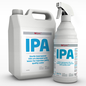 InSpec IPA - Sterile Knitted Polyester Wipes